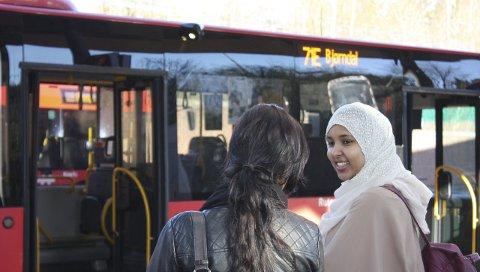 KUN BUSS: Frem til T-banen gjenåpner 3. april er kollektivreisende fra Bjørndal og Mortensrud prisgitt Ruters busstilbud.
