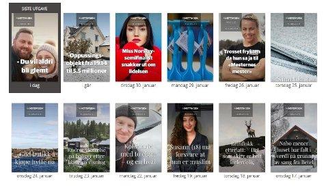 NA+ er et nytt nettmagasin i regi av Amedia og Nettavisen, som Nordstrands Blads abonnenter har tilgang til.