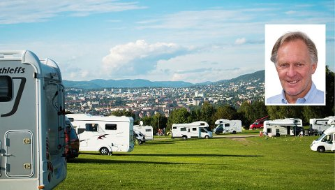 INVESTERINGSKLAR: Thorstein Berg (innfelt) ønsker å satse millioner på Ekeberg Camping.