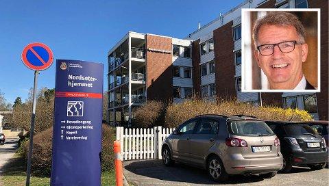 MULIG Å BESØKE: Nordseterhjemmet ble 25. mai erklært smittefritt. Siden er det åpnet for mer besøk ved sykehjemmet. Fra og med tirsdag i neste uke åpner alle sykehjemmene i Oslo for besøk, opplyser eldrebyråd Robert Steen (innfelt).