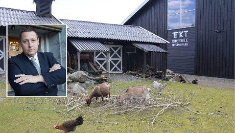 VIL REDDE EKT: Espen Andreas Hasle (KrF) fra Nordstrand mener kommunen må gå inn med midler for å redde EKT Rideskole og Husdyrpark fra konkurs.
