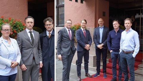 RETTSTVIST: Øvre Ljan Boliglag (til venstre) og Nobil Eiendom møttes i Oslo Tingrett 8. - 12. juni for å avklare boliglagets rett til å innløse hele en festet eiendom på Midtåsen. Dommen er ikke falt ennå. I et innlegg på noblad.no inviterer nå Nobil til å møtes utenfor rettssalen for å komme til enighet.