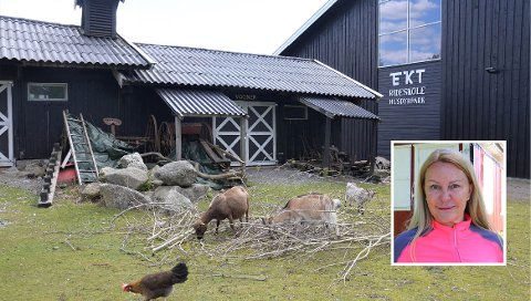 GIR SEG IKKE: FNBs Britt Fossum (innfelt) vil fortsette å kjempe for at EKT skal få koronahjelp.