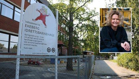 POSITIV UTVIKLING: Trude Sydtangen er daglig leder i selskapet som eier Ekeberg Idrettsbarnehage. – Vi har lavt sykefravær og ansatte som trives på jobb, sier hun.