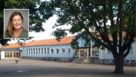 KORONASMITTE: – Med den smitteøkningen vi har sett de siste ukene, har vi vært forberedt på at det kan ramme Ekeberg skole også, sier rektor Nina Jutkvam (innfelt).