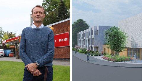 – Vi mener prosjektet føyer seg fint inn i området, sier eiendomsutvikler Richard Zeiner-Gundersen i Circle K.