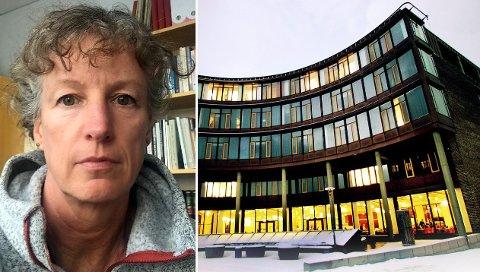 FORSKER PÅ KRIG: Gunhild Hoogensen Gjørv ved Senter for fredsstudier på Universitetet i Tromsø.
