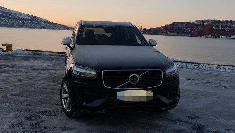 NY BIL: Det var denne bilen, av merket Volvo XC90 T8 ladbar hybrid, Marius Kalvik vant i fjor. Han solgte den kort tid etter, og kjøpte en annen.