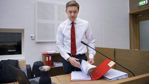 AKTOR: Statsadvokat Jo Christian Jordet stiller i Gjøvik tingrett 11. januar med en 28 sider lang tiltalebeslutning mot mannen. Arkivbilde