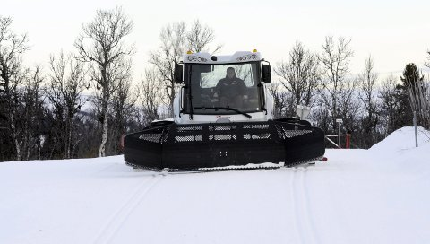 TOPP PREPARERT: Løypemaskinene i Synnfjellet preparerer 330 kilometer skiløyper.