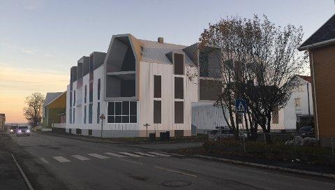 Leilighetsbygg: Bjørn Michaelsen har også kjøpt naboeiendommen til Kvisgårdshjørnet, hvor han ønsker å reise et stort leilighetsbygg.