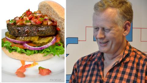 Thomas Rognstad er styreleder i Urban Mat på Gjøvik som nå tester ut sirissburgere i hovedstaden, hvor nye trender ofte blir bedre mottatt.