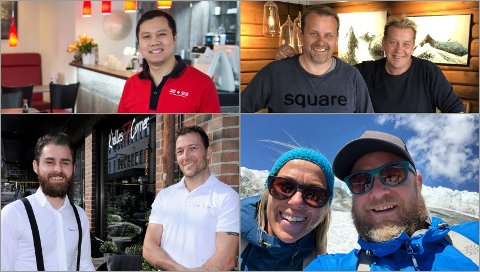SMILER: Jako Sushi, Heimatt, Khalles Corner og Eidsbugarden er blant serveringsstedene som kan smile etter Mattilsynets besøk denne sommeren.