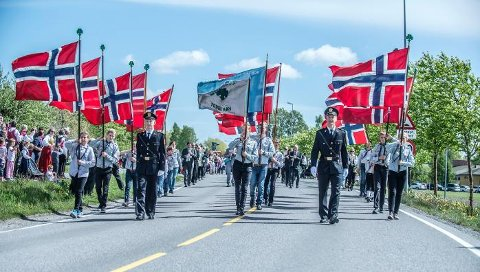 I år kommer politiet til å være bevæpnet på 17. mai.  Foto: CHRISTIAN CLAUSEN