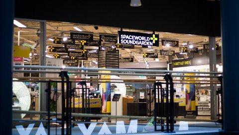 LEGGES NED?: Butikken i Ski overlevede konkursen i Spaceworld Soundgarden i fjor. Nå er fremtiden igjen usikker.