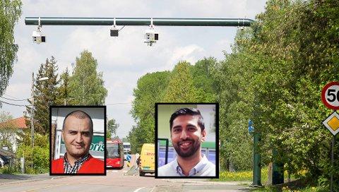 NEDGANG: Daglig leder Hedayat Sediqi på Europris og kjøpmann Munir Hussainpå Rema 1000 merker allerede bommen på omsetningen.