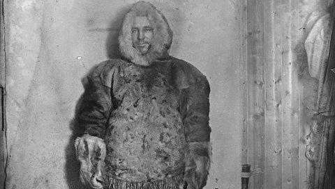 Foredrag: Denne torsdagen får man høre om Oscar Wisting, som fulgte Roald Amundsen gjennom mange ekspedisjoner, på Sjøfartsmuseet.
