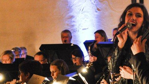 Tilbake: Lisa Glemming er tilbake som solist med Halsen ungdomskorps på årets julekonsert søndag.arkivfoto