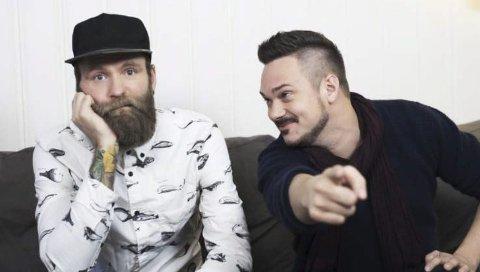 SOFA: Duoen Tore og Adam er mest kjent fra tv-serien «Sofa», men er nå tilbake på showscenen.