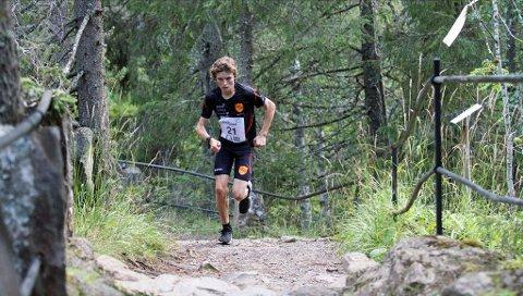 MULTITALENT: 17 år gamle Esten Hansen-Møllerud Hauen fra Alvdal ble norgesmester i sin årsklasse i terrengløp ifjor. Nå er multitalentet klar til å forsvare tittelen.