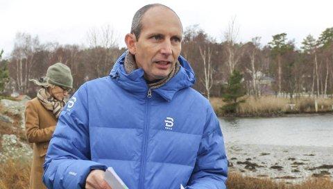 Andreas Mæland i Færder kommune orienterte om stengselssaker de arbeides med og en utlysning som straks er på trappene.