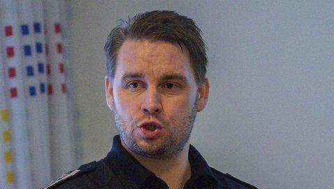 BEKYMRET: Brannsjef Morten Meen Gallefos.