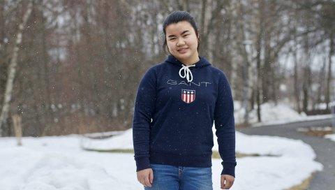 OFRER FRAVÆR: AUF-politiker Emma Li Humlegård trosser fraværet og stiller opp på streiken for klimaet i Skien fredag.