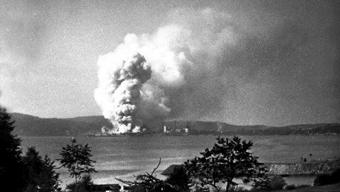 1943: Bombingen av Herøya.