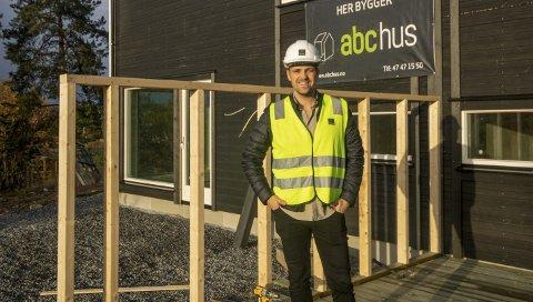 SKI-BASERT: ABChus har hovedsete i Ski, og leverer årlig rundt 300 ferdighus fra Agder i sør, til Trøndelag i nord.
