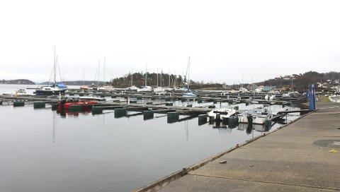 SOVNET: Tyvene ble tatt av politiet i Stathelle marina dagen etter.