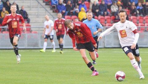 To år i 4. divisjon og sist en sesong uten fotball. Rana FKs Kim André Råde (t.h.) mistet litt av motivasjonen. Foto: Trond Isaksen
