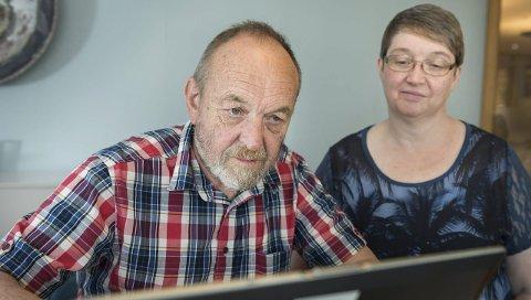 Per Askilsrud (Ringerike) og Hege Irene Fossum (Hole) fra KrF stiller til nettmøte.
