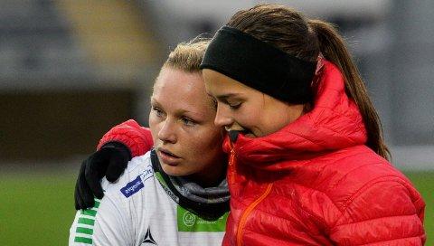 Møter gamlelaget: Silje Nyhagen og HBK møter Øvervoll Hosle mandag. J19-laget til HBK har fått Ingrid Nordbøs gamle klubb, Lillestrøm, i åttedelsfinalen i J19-cupen.