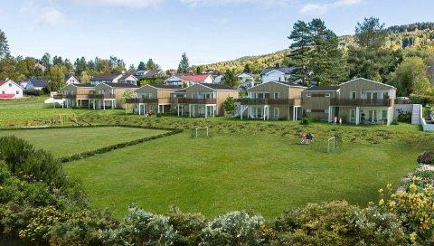 Nerbytunet skal stå ferdig til innflytting mot slutten av året. Slik skal de nye boligene se ut.