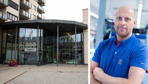 TRENGER NYE LOKALER: – Det jobbes med en løsning, sier kjøpmann Geir Ante Stepanenko i Rema 1000.