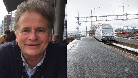 FIKK TELEFONEN TILBAKE: Nils Krister Larsen hadde ikke regnet med å få den tapte telefonen sin tilbake.