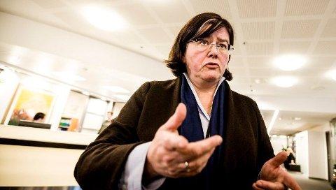– HÅRREISENDE: Fylkesordfører Anette Solli (H) kaller inn til møte om manipuleringen ved skolevalget på Lillestrøm videregående skole. Hun kan ikke skjønne at eksperimentet ble gjennomført.