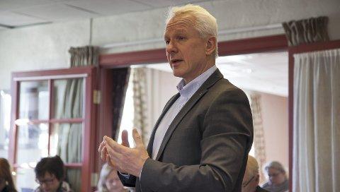 NY RÅDMANN: Lars Bjerke er ønsket av kommunestyrene i Røyken, Hurum og Asker, og blir prosjektleder og senere rådmann for nye Asker fra 1. april.