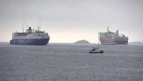 KLIMATILTAK: Kravet til miljø veide tungt da Sandefjord kommune tildelte seilingstider i fjor. Foto: Per Langevei