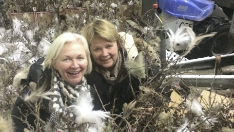 Skaper gode opplevelser: Gina Klavenes (t.v.) og Mona Nomme. Arkivfoto: Fjorden Sanitetsforening