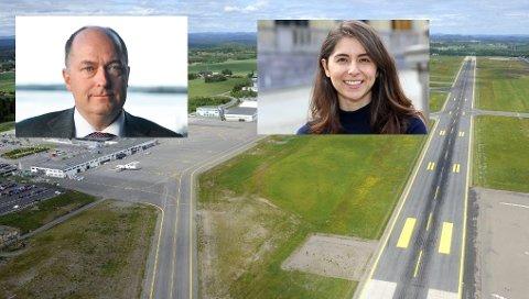 Hvor mye skal reiselystne som bruker Sandefjord lufthavn Torp frykte Miljøpartiet de Grønne i en vippeposisjon. Det strides Morten Stordalen (FrP) og Lozan Balisany (AP) om.