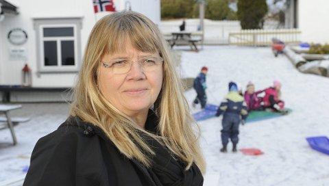 SYKEFRAVÆR: Daglig leder ved Sole Barnehage, Hilde Ellingsen, forteller at de i perioden før sommeren hadde et nullfravær. Nå etter oppstart har det vært annerledes.