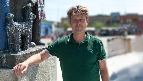 BYUTVIKLING: Fritz stiller til valg for Venstre foran høstens lokalvalg og er opptatt av både by- og stedsutvikling.FOTO: KNUT NORDHAGEN
