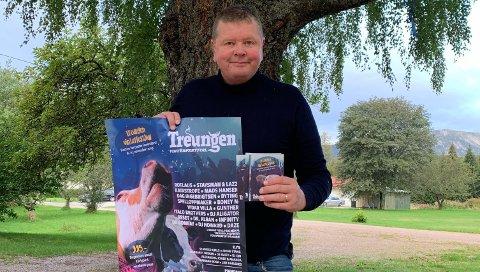 HJERTELIG VELKOMMEN: – Her skal alle føle seg unikt velkomne, sier Jørgen Solberg. Nå lager han Nordens største vinterfestival innendørs. PRESSEFOTO