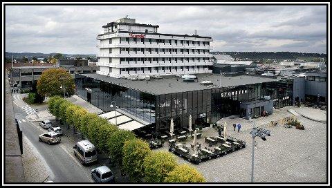 ÅPNER: Scandic Sarpsborg gjenåpner 15. juni. Arkivfoto: Jarl M. Andersen