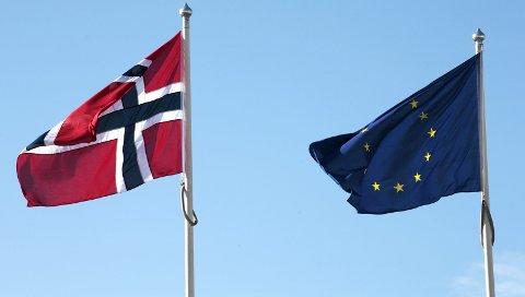 Halvparten av nordmenn vil beholde EØS-avtalen som den er i dag.