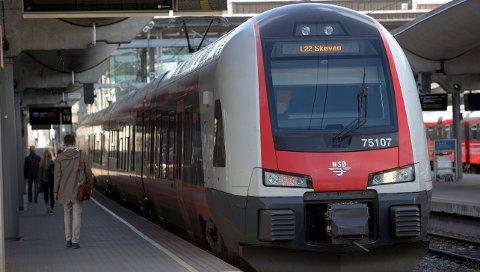 Norsk jernbane er ikke på topp i Europa.