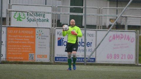 HOLDT NULLEN: Keeper Kenneth Tømte holdt nullen og sto godt i kampen.