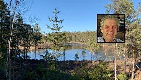 FALT PÅ TUR: Per Holm fra Askim falt på tur i Trømborg-fjella. Nå takker han alle som hjalp til.