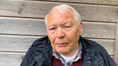 RØMLINGANE SIN HJELPAR: Ernst Skogerbø var 12 år gammal då han måtte vera med og skjula tre rømlingar i bestestova heime.